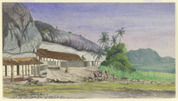 Rock Temple, Dambulla (Ceylon). 8 February 1868
